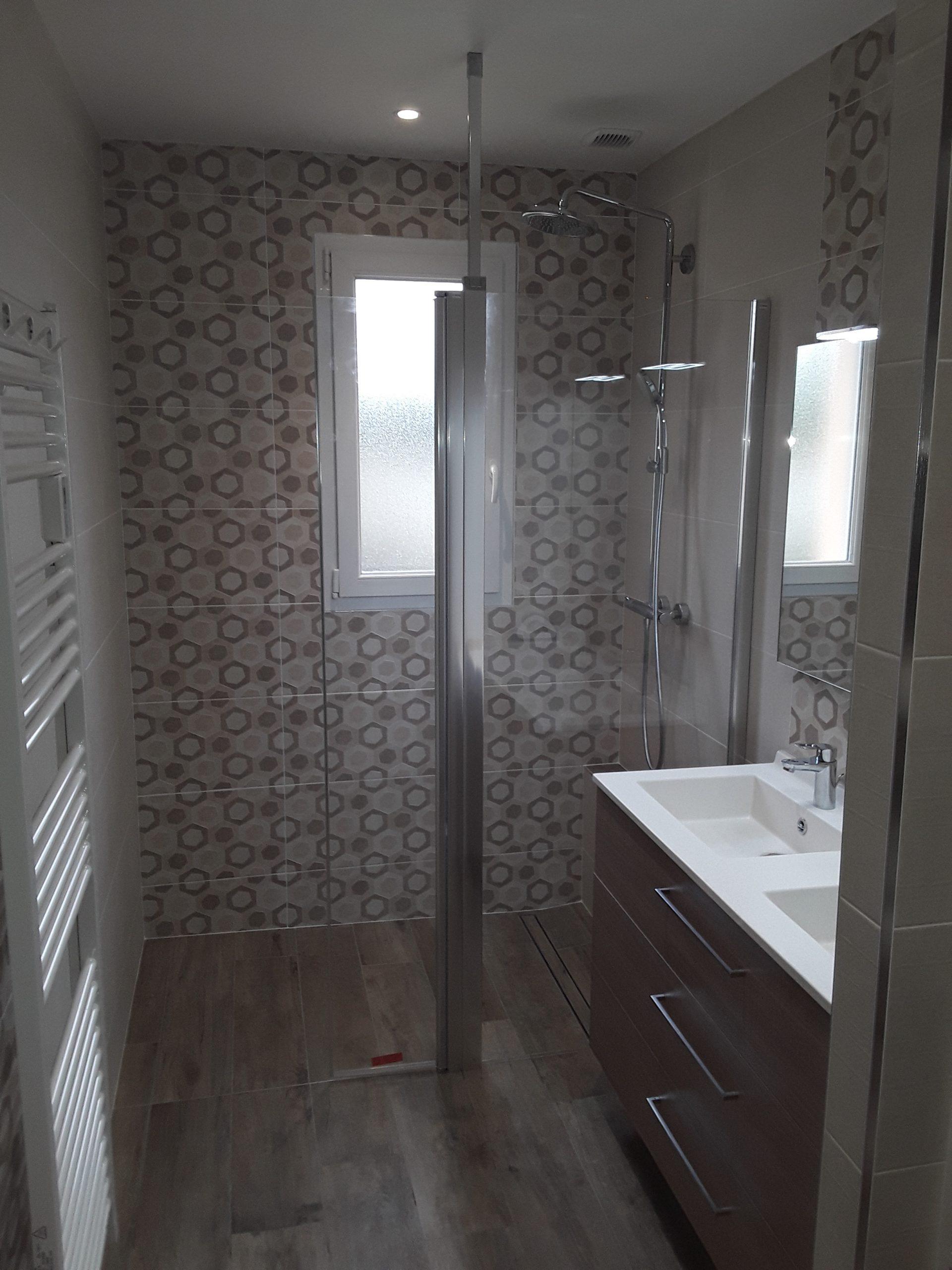 Réalisation salle de bain cholet énergies choletaises